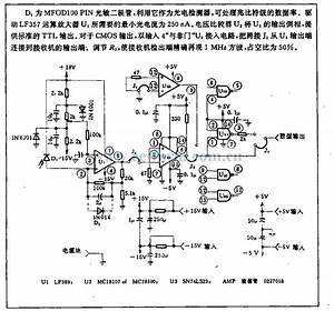 Optical Receiver Circuit - Power Supply Circuit