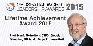Prof Henk Scholten honored with Lifetime Achievement Award ...
