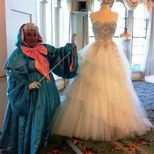 cinderella39s fairy godmother with her wedding dress from With godmother wedding dress