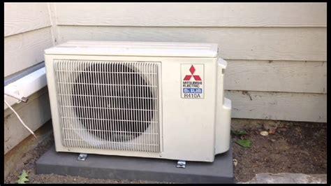 Mitsubishi 4 Port Ductless Heat Pump