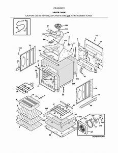 Kenmore Elite 79048443411 Electric Wall Oven Parts