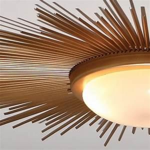 Global views  sunburst gold modern contemporary