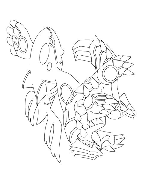 Groudon Kleurplaat by Kyogre Coloring Page Az Coloring Pages