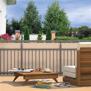 Sichtschutz Fuer Balkon : balkon sichtschutz sonnenschutz windschutz garten zaun terrasse balkonbespannung ebay ~ A.2002-acura-tl-radio.info Haus und Dekorationen