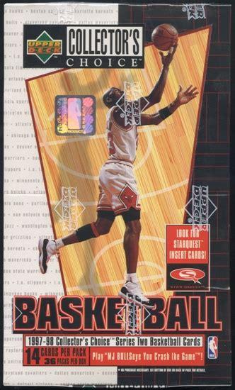 Deck Collectors Choice 1997 1997 98 deck collector s choice series 2 basketball