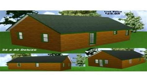 cabin floor plans  home plans cabin package