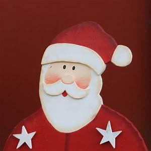 Basteln Holz Weihnachten Kostenlos : weihnachtsmann santa claus nikolaus bastelvorlage f r ~ Lizthompson.info Haus und Dekorationen