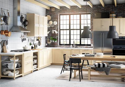 cuisine loft industriel ikea kitchen