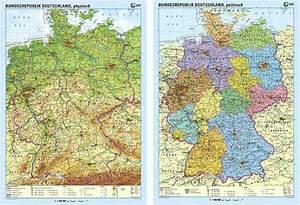 Deutschland Physische Karte : karte der bundesrepublik deutschland goethe institut tschechien ~ Watch28wear.com Haus und Dekorationen