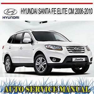 Hyundai Santa Fe 2006 : hyundai santa fe elite cm 2006 2010 service repair manual dvd ebay ~ Medecine-chirurgie-esthetiques.com Avis de Voitures