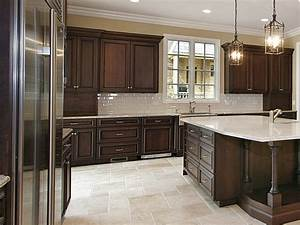 Kitchen Pictures With Dark Cabinets Panel Glass Door Over
