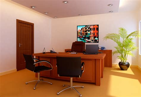 bureau manager interior design and furnishing for office