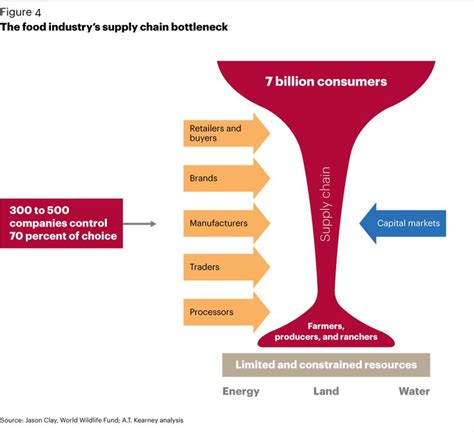 food industrys supply chain bottleneck food justice