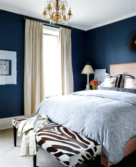 Ideas Navy Blue Walls by 18 Vibrant Navy Blue Bedroom Design Ideas Rilane