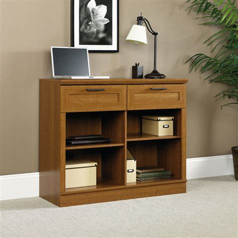 sauder homeplus console table sienna oak walmart com