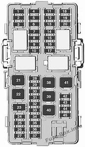 Fuse Box Diagram Opel  Vauxhall Karl  2015