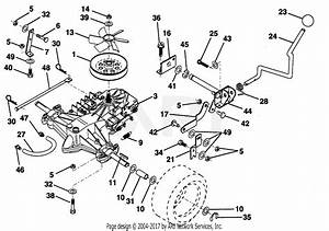 Poulan Pp125h38ka Tractor Parts Diagram For Transaxle