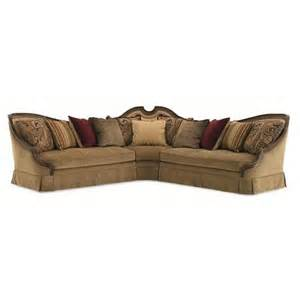 schnadig wyeth transitional loveseat and wedge three sofa sectional with exposed