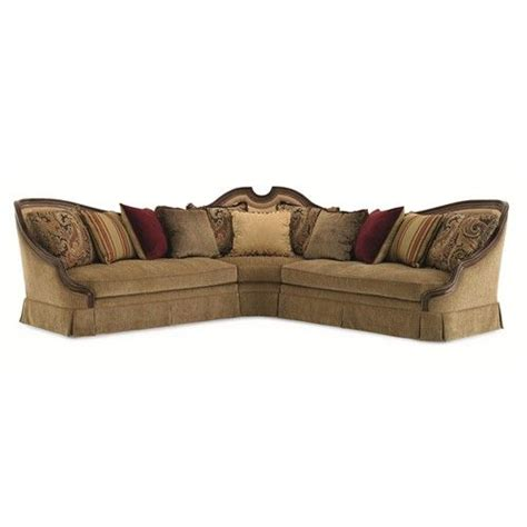 schnadig wyeth transitional double loveseat and wedge