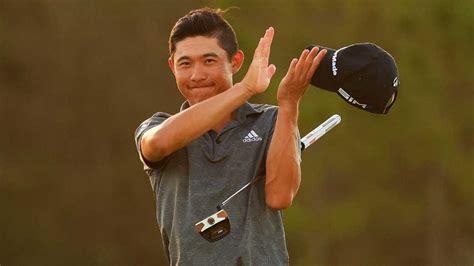Collin Morikawa thanks Tiger Woods after history-making ...