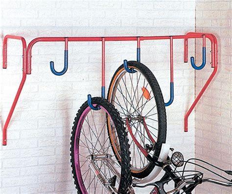 bike wall rack mottez 5 bike wall mount cycle solutions