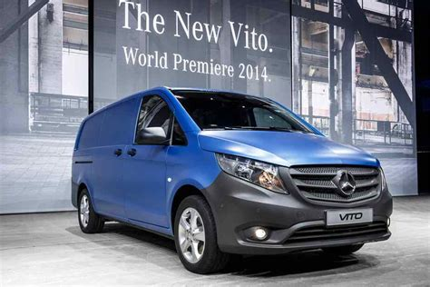 The New 20182019 Mercedesbenz Vito  A Workhorse Of A