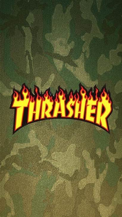 Thrasher Supreme Aesthetic Wallpapers Simpson Android Iphone