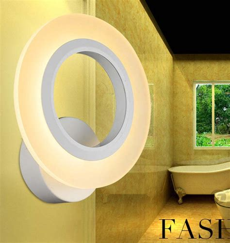 ed wall light ring 9w livingroom bathroom lights mirror