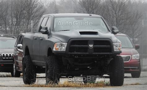 ram spy photo show  hellcat powered raptor