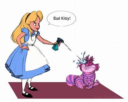 Disney Kitty Bad Deviantart Cats Princesses Cat