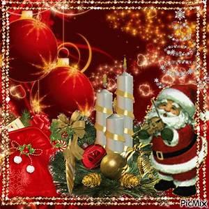 Schöne Weihnachten Grüße : advent avent animated christmas ~ Haus.voiturepedia.club Haus und Dekorationen
