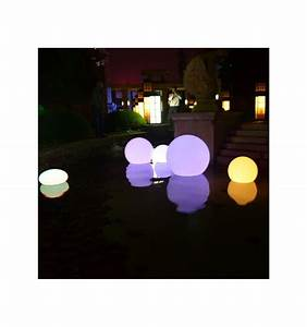 Boule De Lumiere : boule de lumi re waterproof led 50cm ~ Teatrodelosmanantiales.com Idées de Décoration