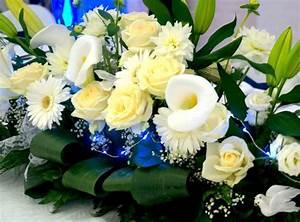 Fleurs Pour Mariage : fleurs blanches mariage septembre ~ Dode.kayakingforconservation.com Idées de Décoration