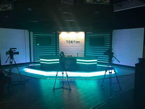 tv talk show backdrop