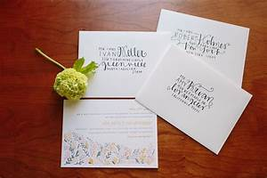 wedding invitation wording wedding invitation envelope With how to address wedding invitations minted