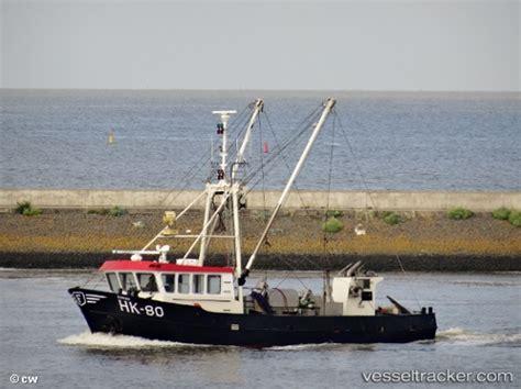 hk  sarah fishing boat mmsi  callsign pb flag netherlands vesseltrackercom