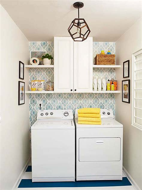Decorating Ideas For Small Laundry Room by 25 Small Laundry Room Ideas