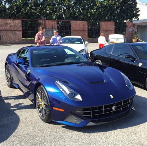 Clearly the perfect car, already the 458 is one of the best car ever created but in this tdf blue, grey rims and ivory interior we can't do more beautiful configuration. Ferrari F12 Berlinetta painted in Tour de France Blue ...