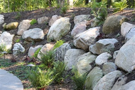 boulders for retaining wall boulder retaining wall boulder retaining wall projects click photos to enlarge retaining