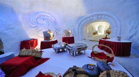 les types de chambres dans un hotel igloo gstaad vert touristique en saanen