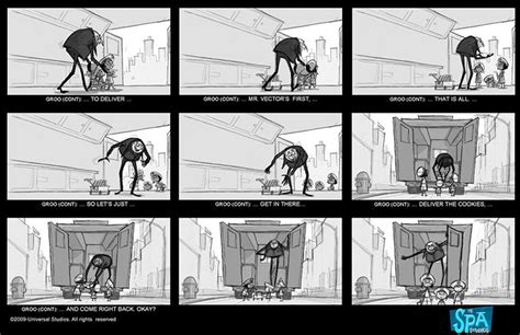Billboard Movies Animation storyboards  despicable 862 x 557 · jpeg