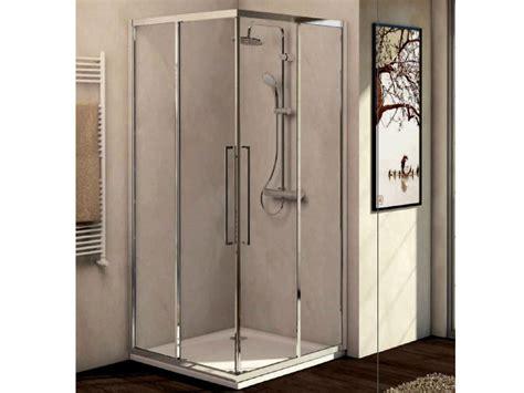 box doccia kubo box doccia in vetro temperato con porta scorrevole kubo