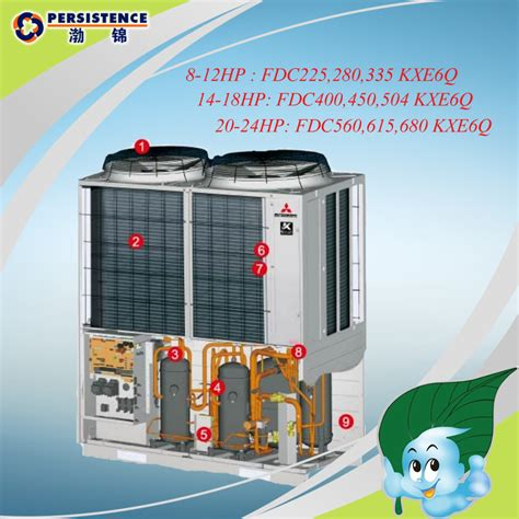 Mitsubishi Central Air Conditioner by Mitsubishi Inverter Vrv Air Conditioner For Sale Central