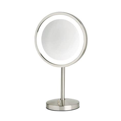 jerdon model hl1015nl 5x led lighted table top mirror jp
