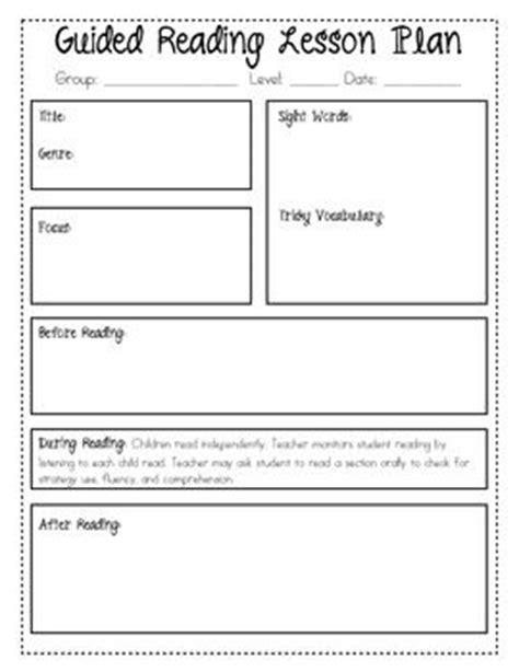 guided reading template guided reading lessons ks2 topic resources teaching tesguided reading lesson plan page fluent