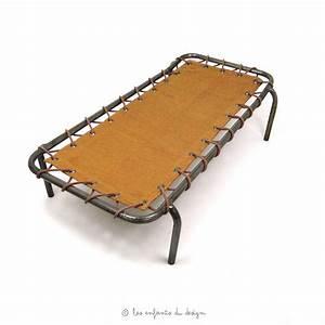Lit De Camp : lit de camp d 39 appoint curry num ro 74 pour chambre enfant les enfants du design ~ Teatrodelosmanantiales.com Idées de Décoration