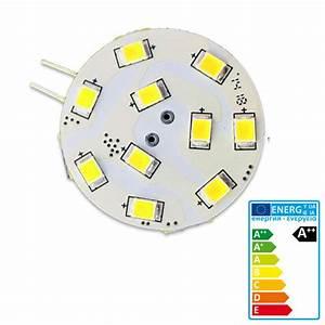 Ampoule Led 12v G4 : ampoule led g4 150 lumens 1 5 w 12v 30mm chaud ~ Dailycaller-alerts.com Idées de Décoration