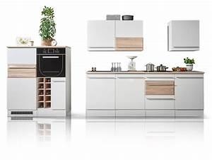 Sonoma Eiche Küche : bary k che dekor wei matt eiche sonoma ~ Eleganceandgraceweddings.com Haus und Dekorationen