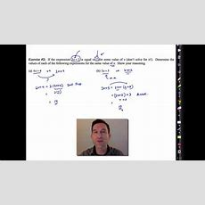 Common Core Algebra Iunit #1lesson #6seeing Structure In Expressions Youtube