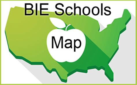 bureau of indian education apple school map